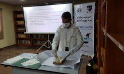 SNC capacita a biblioteca pública de Caaguazú y entrega libros en donación imagen