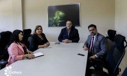 La SNC y la gobernación de Alto Paraná impulsarán el plan de acción cultural para el departamento imagen