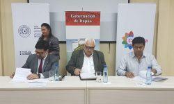 SNC, Gobernación y Municipios de Itapúa firman Convenio de Cooperación imagen