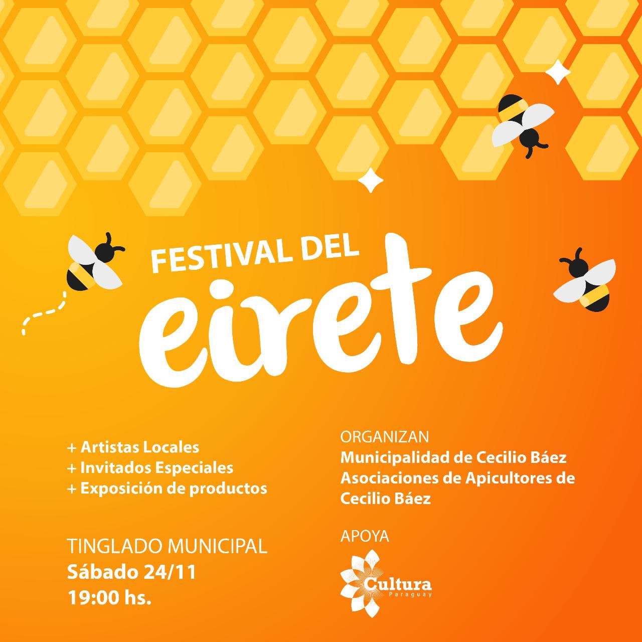 Realizarán el Primer Festival del Eireté en la ciudad Dr. Cecilio Báez de Caaguazú imagen