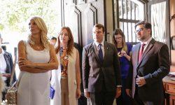 Ministro Capdevila recibe a la Primera Dama de Montenegro en la Casa de la Independencia imagen