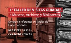 SNC realizará el primer taller de visitas guiadas a Museos, Archivos y Bibliotecas imagen