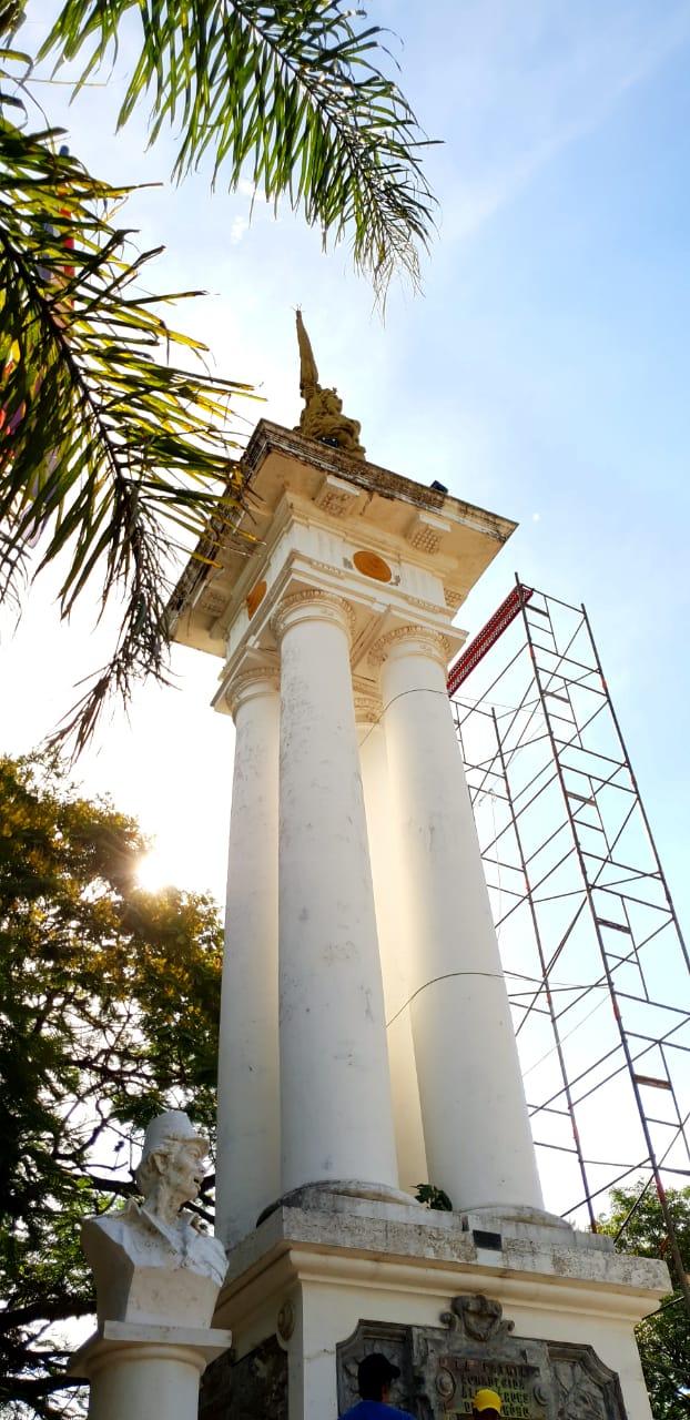 Actos conmemorativos en el Monumento de Ytororó imagen