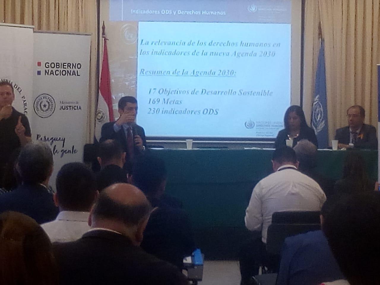 Realizan Seminario Nacional sobre Objetivos de Desarrollo Sostenible y Derechos Humanos imagen