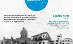 SNC y Comisión Sesquicentenario organizan recorrido histórico imagen