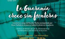 "La Guarania será protagonista del ""Verano Cultural Sanber 2019"" imagen"