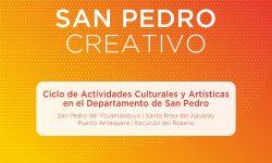 """Impulsan el ciclo cultural """"San Pedro Creativo"""" imagen"""