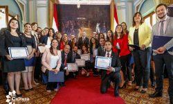 Altos ejecutivos del Estado concluyen Diplomado internacional en Gestión Pública imagen