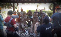 Prosigue el rodaje del audiovisual sobre el tereré en la cultura del pohâ ñana imagen