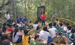 Cerro Corá recibe a una multitud de estudiantes que participan del campamento juvenil en conmemoración al Día de los Héroes imagen