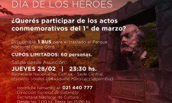 Inscribite para participar de los actos conmemorativos por el Día de los Héroes imagen
