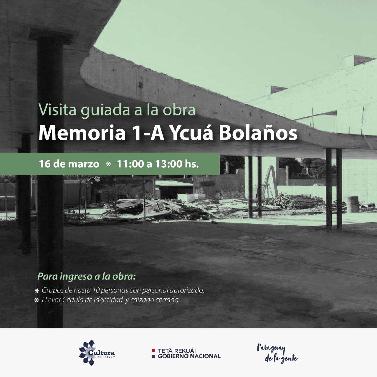 Visita guiada en el sitio de Memoria 1-A Ycuá Bolaños imagen