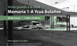 Realizarán visita guiada en la obra del futuro Centro Cultural y Sitio de Memoria 1-A Ycuá Bolaños imagen