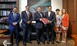 SNC y grupo ONCE dotarán a la Biblioteca Nacional del Paraguay de libros en Braille y en formato sonoro