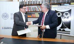 Cultura y Facultad de Filosofía UNA firmaron Convenio de Cooperación Interinstitucional imagen