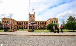 Acuerdan acciones interinstitucionales para futura habilitación del adoquinado frente al Palacio de López imagen