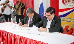 Cultura y la Municipalidad de Guarambaré estrechan vínculos en favor de la protección del patrimonio cultural imagen