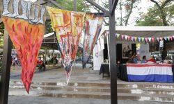 Actividades en el stand de la Secretaría Nacional de Cultura por las Fiestas Patrias #208Paraguay imagen