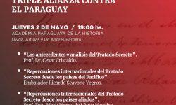 """Realizarán conversatorio sobre """"El Tratado Secreto de la Triple Alianza contra el Paraguay"""" imagen"""