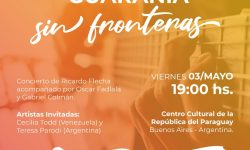 """""""La Guarania sin Fronteras"""", concierto que busca cautivar a la capital argentina imagen"""