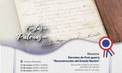 Habilitadas desde hoy, Muestras de Decretos en Museos de la SNC por los #208Paraguay imagen