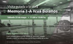 Prevén visita guiada a obra del Centro Cultural y Sitio de Memoria 1A – Ycuá Bolaños imagen