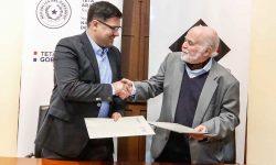 SNC y Fundación Arlequín Teatro firman Convenio para digitalización de patrimonio documental imagen