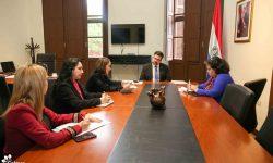 Coordinan acciones para próxima visita de autoridades de SEGIB al país imagen