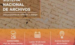 """Realizarán el Conversatorio """"Sistema Nacional de Archivos"""" imagen"""