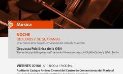 """Música y teatro leído """"Noche de Flores y Guaranias"""" imagen"""