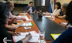Sobrevivientes y familiares de víctimas del Ycuá Bolaños se interiorizan sobre el proceso de construcción del Sitio de la Memoria 1A