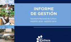 Informe de Gestión Agosto 2018 / Agosto 2019 imagen