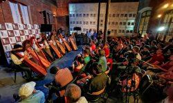 Se inició el XII Festival Mundial del Arpa en el Paraguay imagen