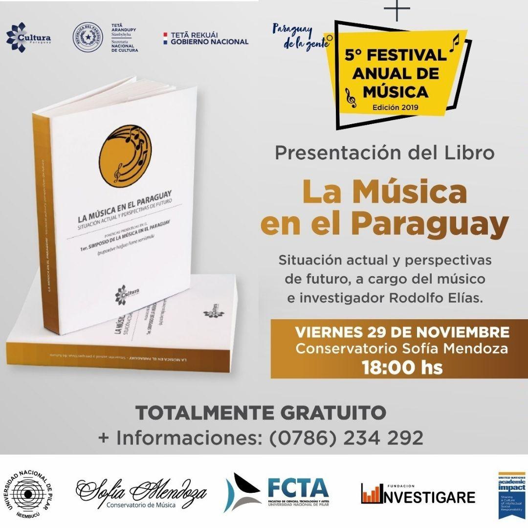 Presentarán en Pilar el libro del Simposio de la Música imagen