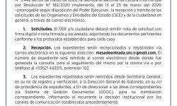 Coronavirus: La SNC implementa recepción y trámite de las solicitudes de los OEE y la ciudadanía en general a través del correo electrónico imagen