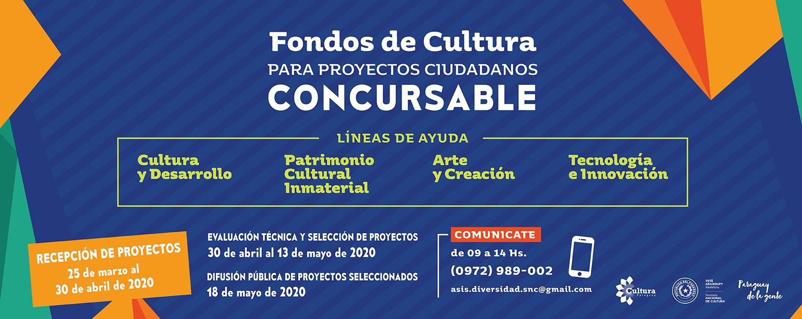 Fondos de Cultura para Proyectos Ciudadanos 2020 imagen