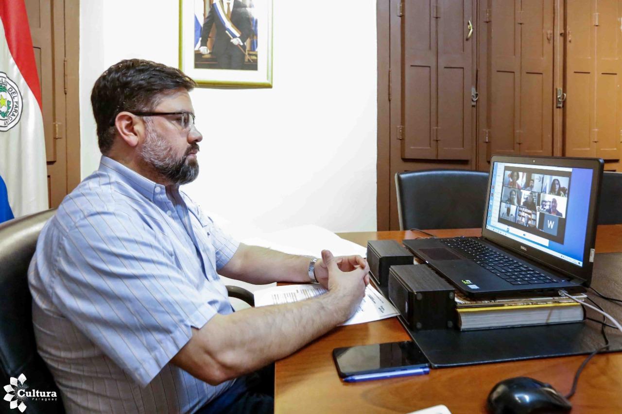 Ministro de Cultura afirmó en conversatorio virtual que la misión de Paraguay es hacer más visibles a las poblaciones afrodescendientes imagen