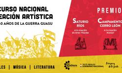 Concurso Nacional de Creación Artística por los 150 años de la Guerra Guasu imagen