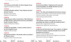Jueves con agenda internacional en la Feria Virtual del Libro
