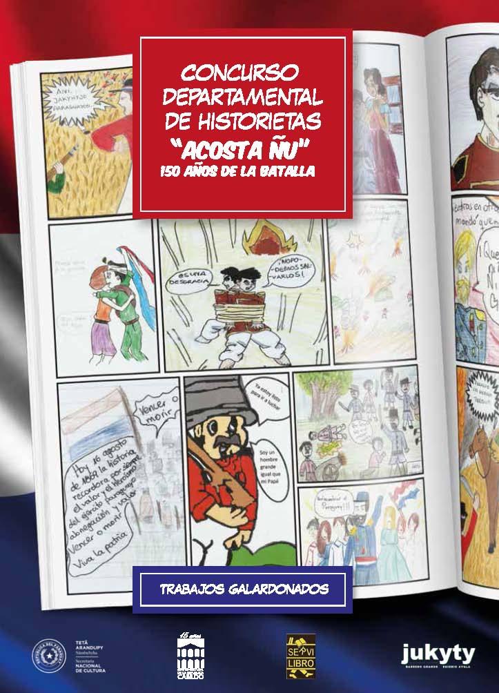 """Concurso Departamental de Historietas """"Acosta Ñu"""" 150 años de la Batalla imagen"""