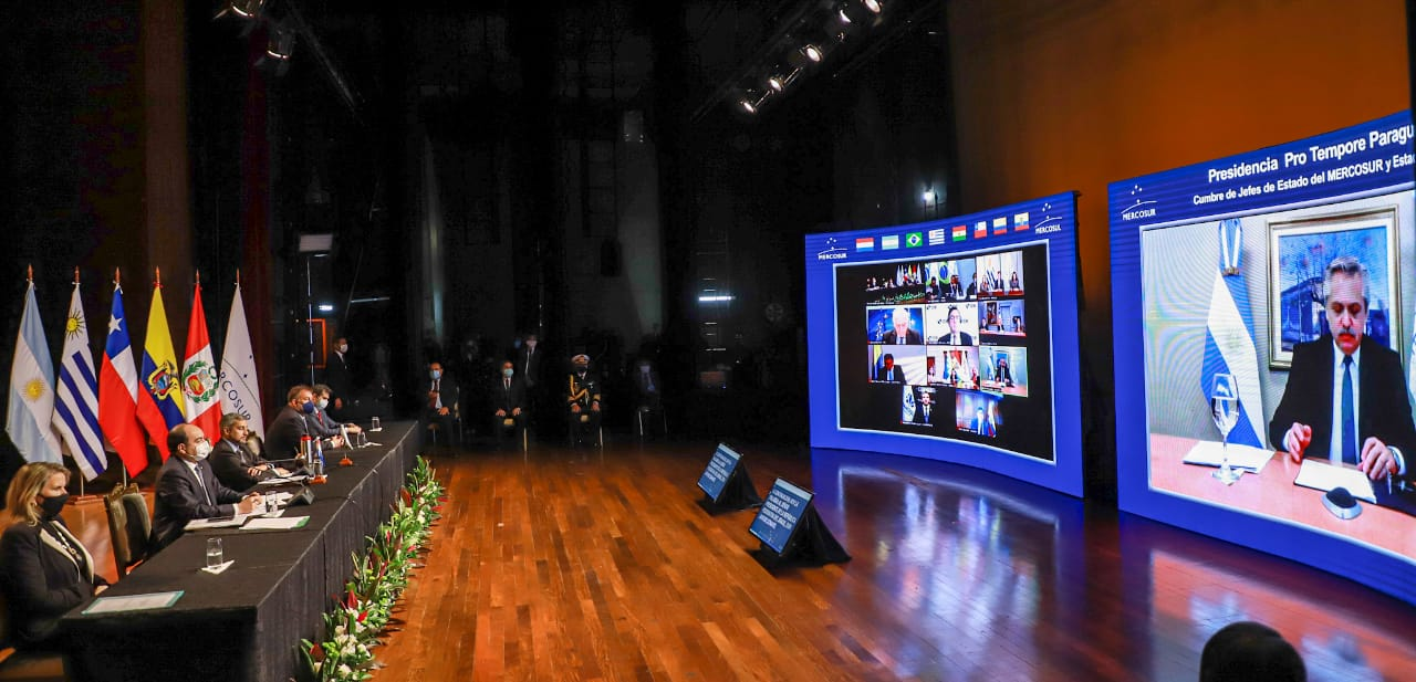 Cumbre del Mercosur: presidentes destacaron la importancia de adoptar medidas para atender las necesidades del sector cultural imagen