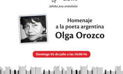 Homenaje a Olga Orozco cerrará la Feria Virtual del Libro