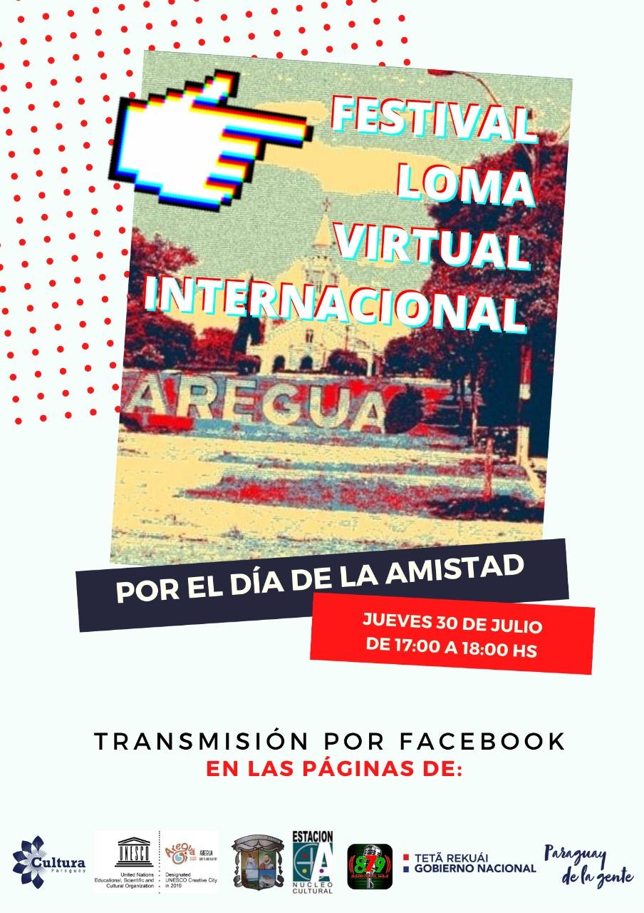 Festival artístico Loma Virtual Internacional se realiza hoy con aporte de los Fondos de Cultura imagen