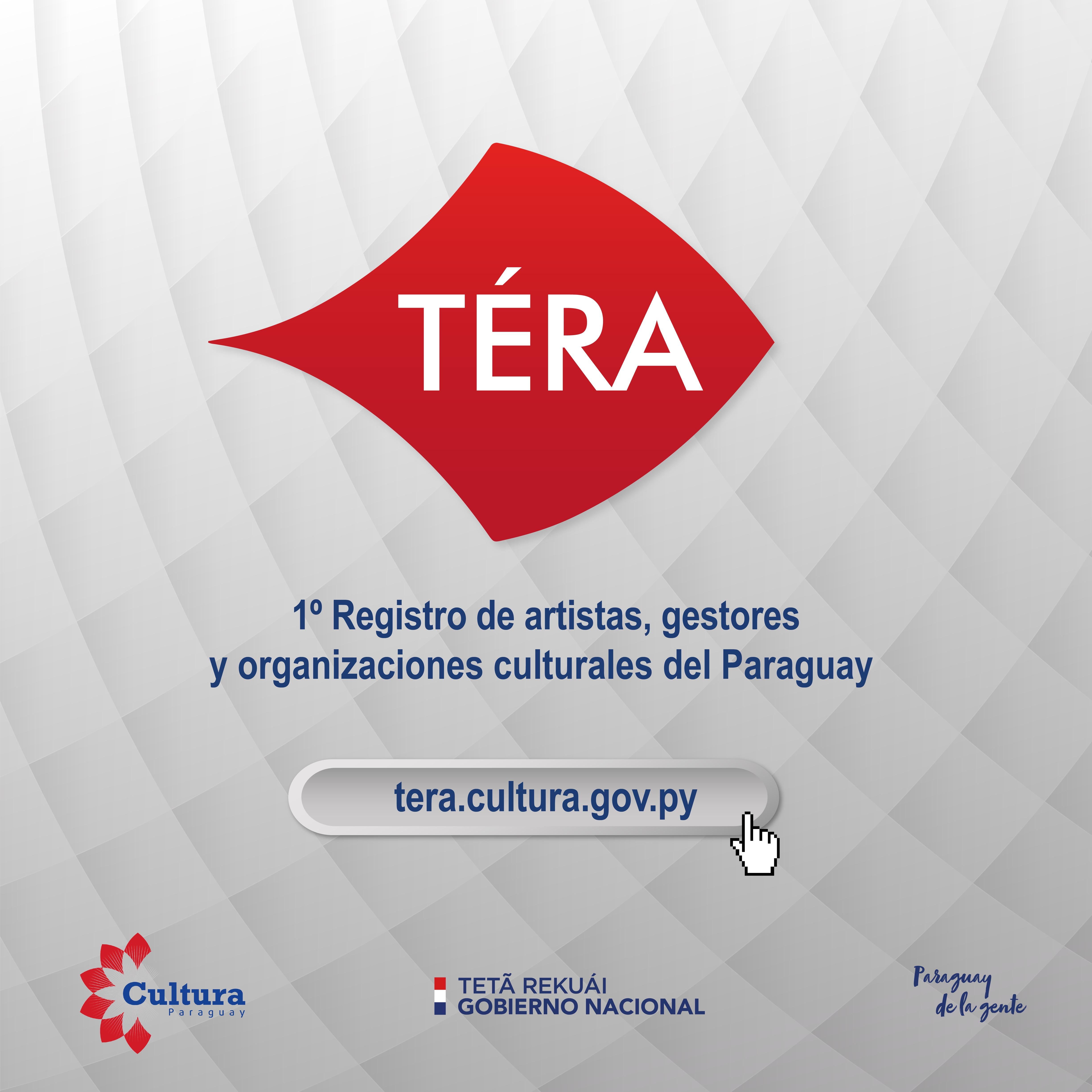 La SNC habilita TÉRA, el registro de artistas, gestores y organizaciones culturales del Paraguay imagen