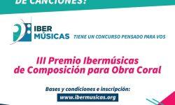 Convocatorias IBERMÚSICAS 2020 para actividades del año 2021 imagen