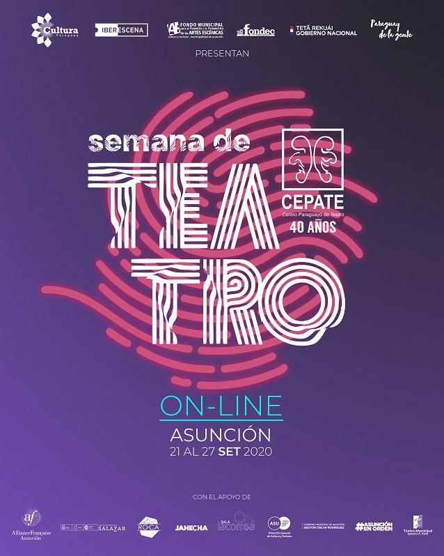 El 21 de setiembre inicia la Semana de Teatro Online 2020 imagen