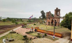 SNC realiza puesta en valor del entorno de las Ruinas de la ex iglesia de San Carlos de Borromeo