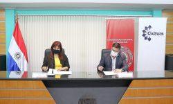 La SNC y la UNA articulan acciones para la promoción de la cultura nacional