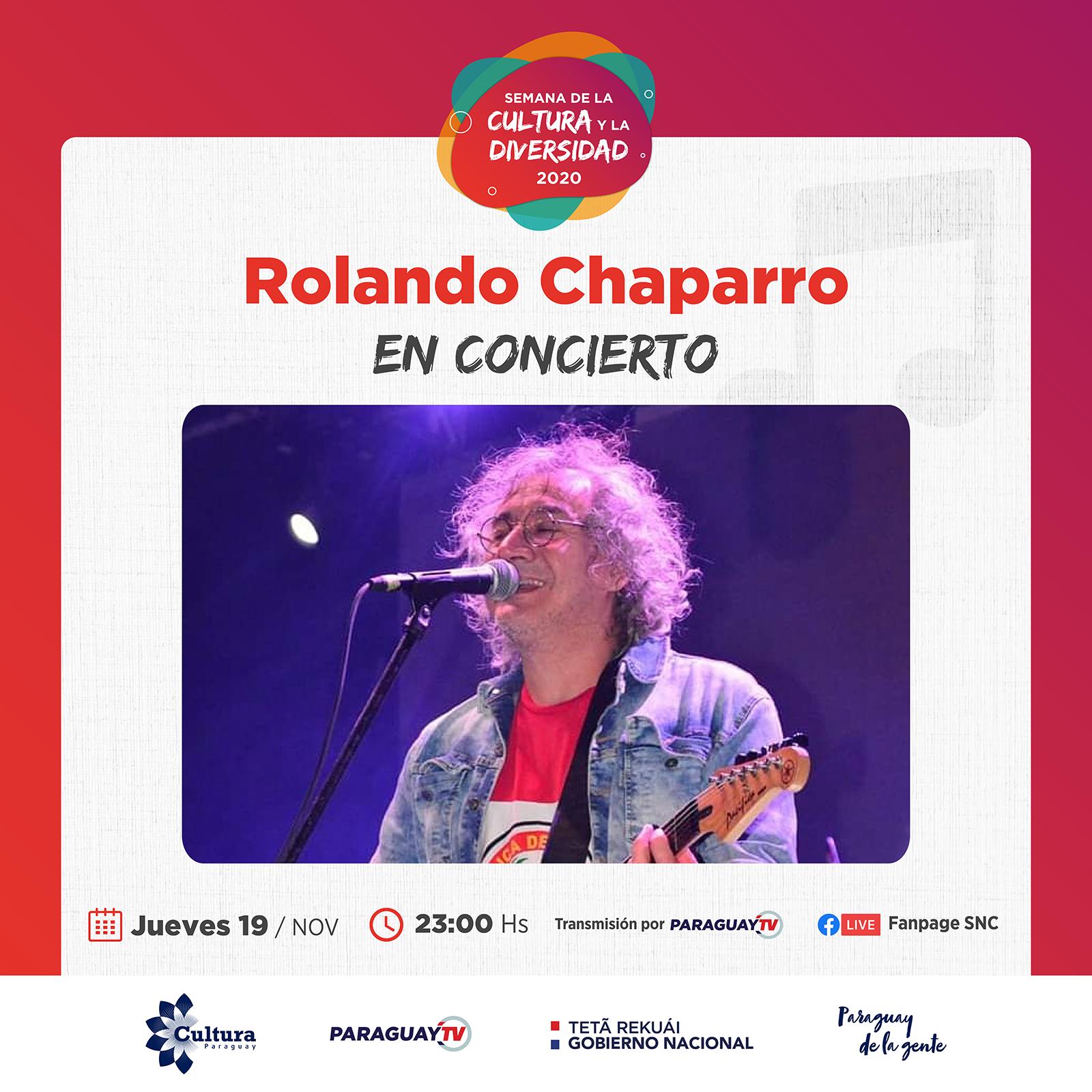 Obras de Teatro, Danza y el show de Rolando Chaparro en jornadas estelares de la Semana de la Cultura y la Diversidad 2020 imagen