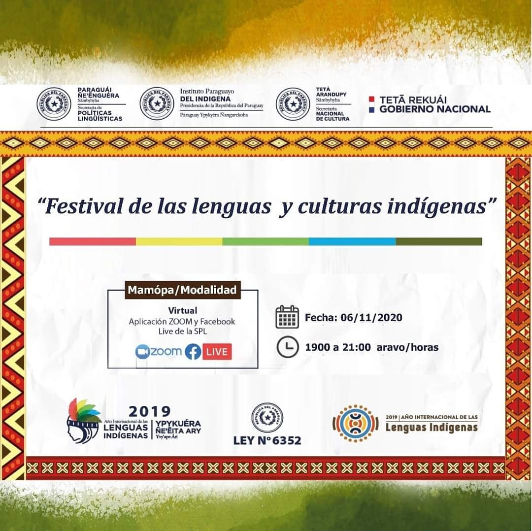SNC y SPL presentan el Festival de Lenguas y Culturas Indígenas imagen